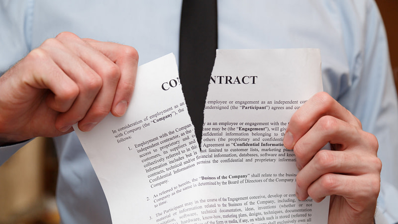 contract-torn